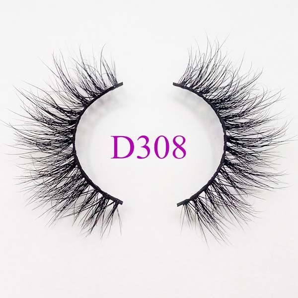 Mikiwi 3D Mink Lashes Private Logo D308