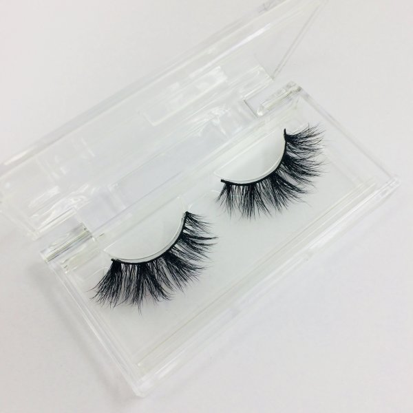 New arrivals D386 topselling seires mink lash custom packaging