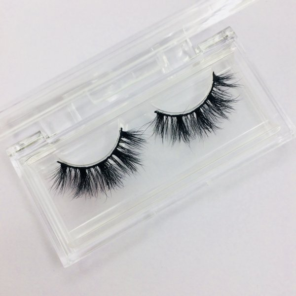New arrivals D387 25mm lashes mink cruelty free packaging luxury box